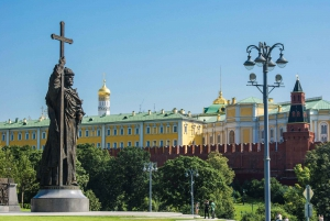 Moscow Kremlin Admission, Red Square & City Center Tour