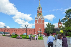 Moscow: Kremlin, Red Square, and Metro Tour with Pick-Up