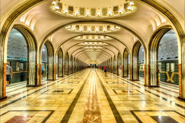 Moscow Metro 2-Hour Tour
