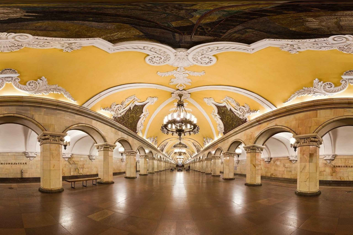 Moscow Metro and the Old Arbat: 3-Hour Private Tour