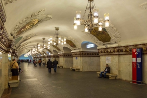 Moscow: Metro & Bunker-42 Guided Tour