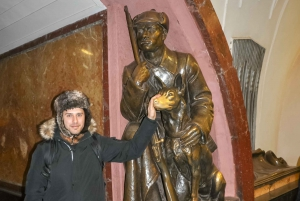Moscow Metro Stations Private Tour with Hotel Pickup
