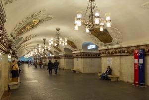 Moscow: Metro & The State Tretyakov Art Gallery Tour
