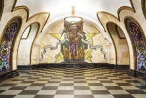 Moscow: Museum of Cosmonautics and Metro Soviet History Tour