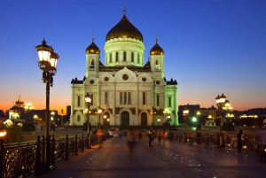 Moscow: Night Small Group Tour