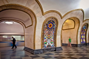 Moscow: Private Metro Tour of Moscow with Hotel Pick up