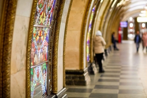 Moscow: Private Metro Tour with Hotel Pickup