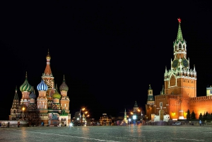 Moscow: Private Night Tour with Pickup