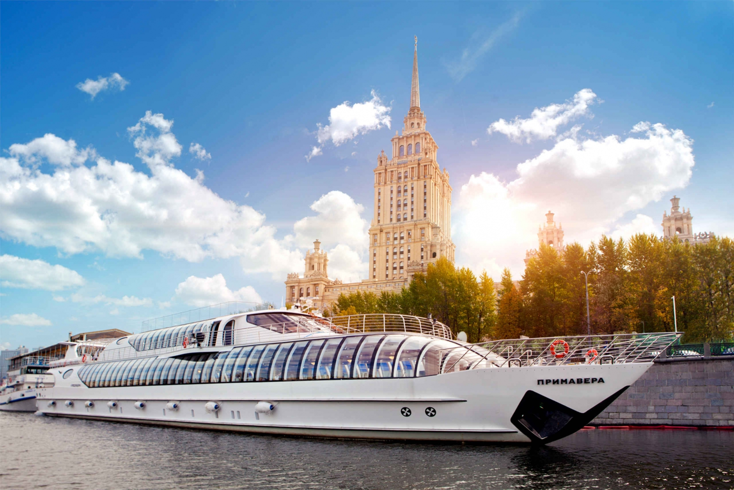 Moscow River Guided Boat Cruise