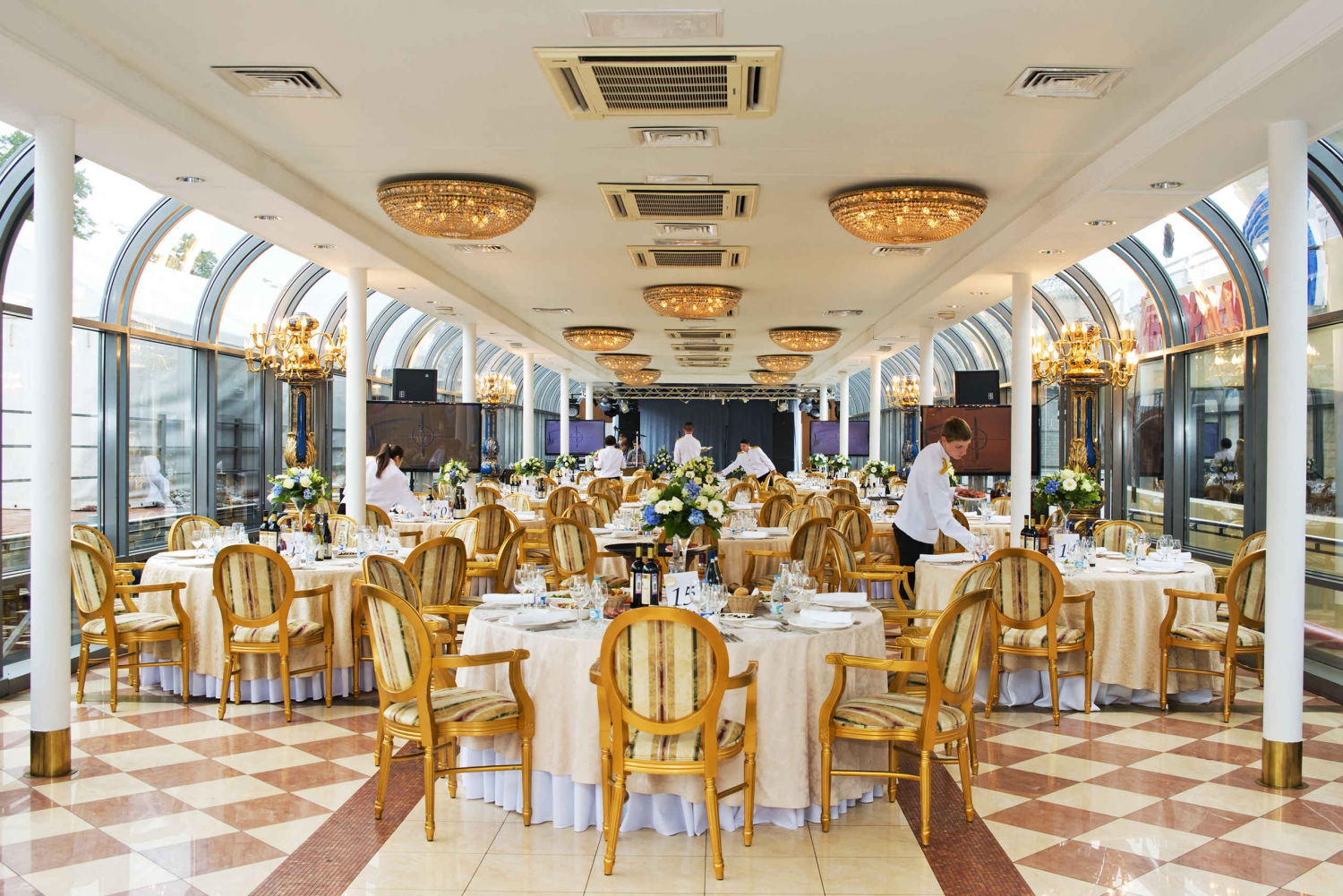 Moscow River Luxury Dinner Cruise with VIP Service
