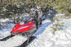 Moscow: Snowmobile Forest Safari Adventure