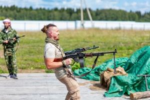 Moscow: Tank Riding and Bazooka Military Experience