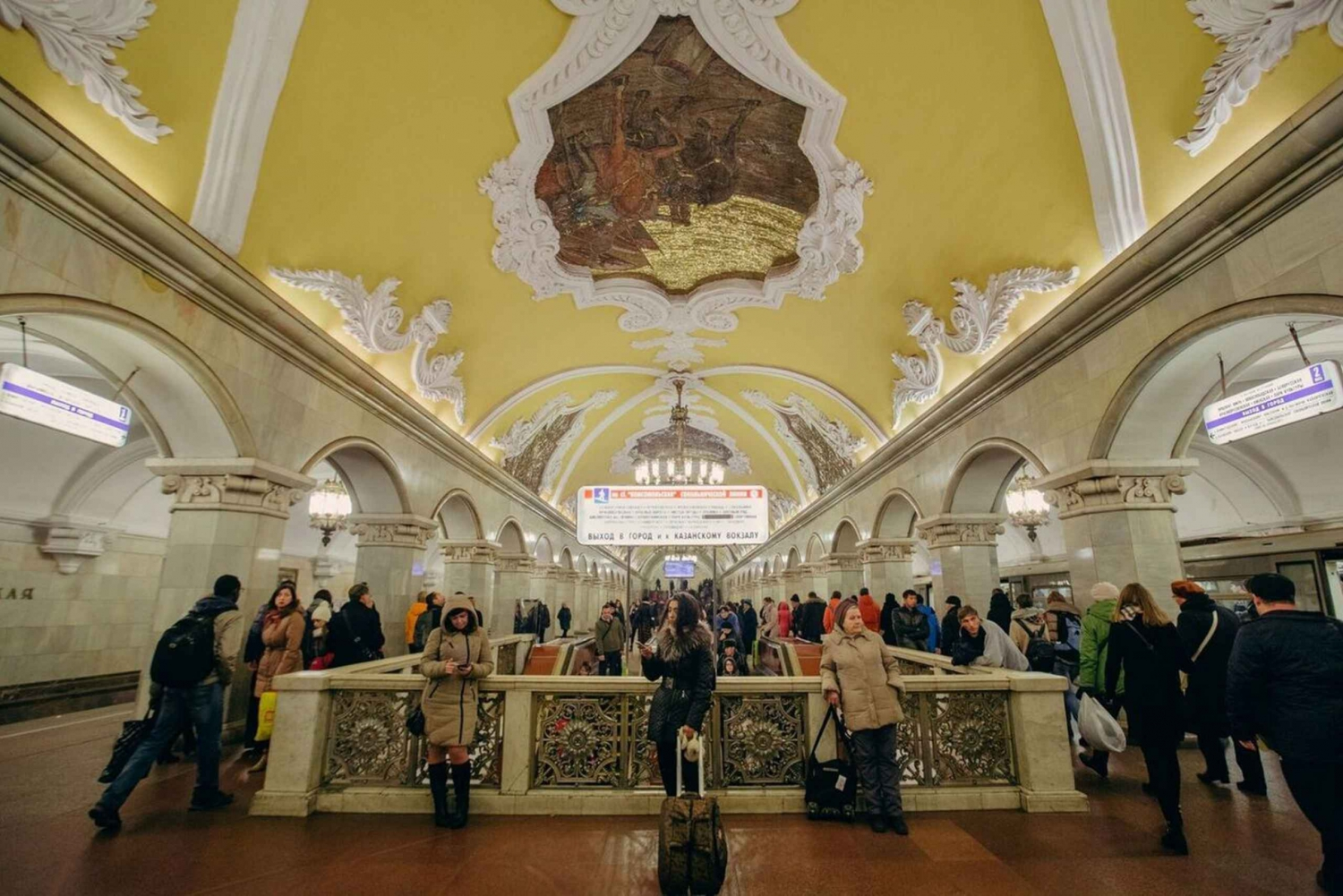 Moscow Underground 3-Hour Guided Tour