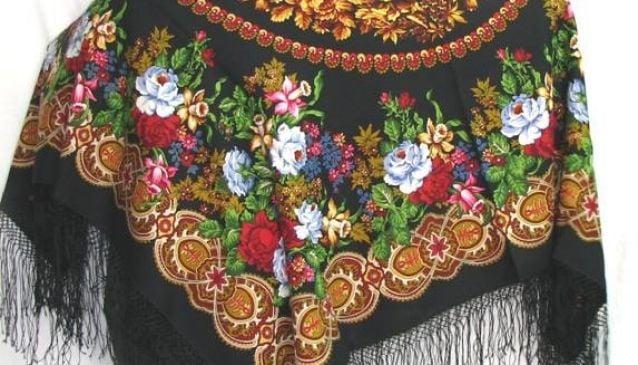 Pavloposadskye shawls