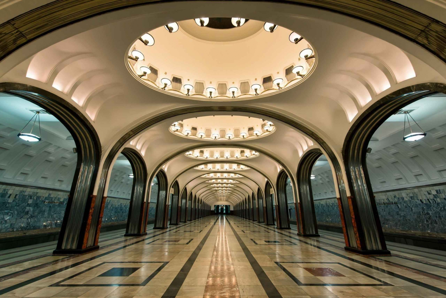 Private Majestic Metro Tour of Moscow