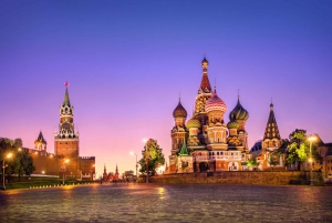 Red Square Private Tour and Moskva River Dinner Cruise