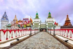 Russian Metro and Izmaylovo Kremlin Courtyard Tour