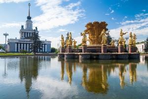 Soviet VDNKh and Cosmonautics Museum Tour
