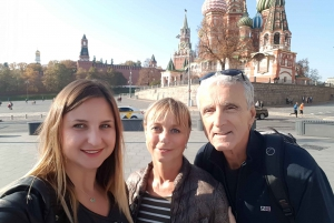 St.Basil's Cathedral and Red Square: Private Tour and Ticket