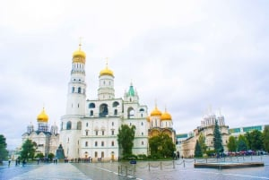 St. Basil's Cathedral, Red Square, and Kremlin Tour