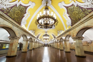 St. Petersburg: Private Moscow Visa-Free Shore Excursion