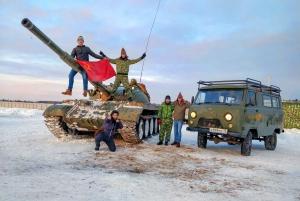 Tank Riding and Bazooka Military Experience