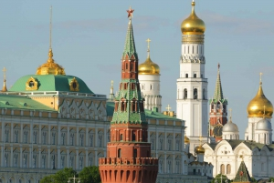 Ticket and Self-Guided Tour Around the Kremlin