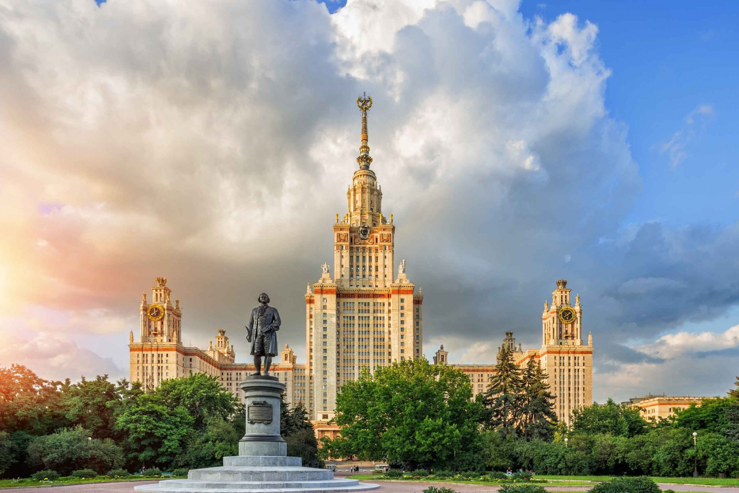 Vorobyovy Gory and Moscow State University Private Tour