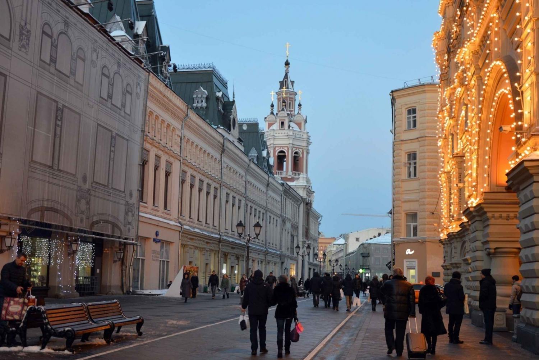 Walking Tour of Nikolskaya Street