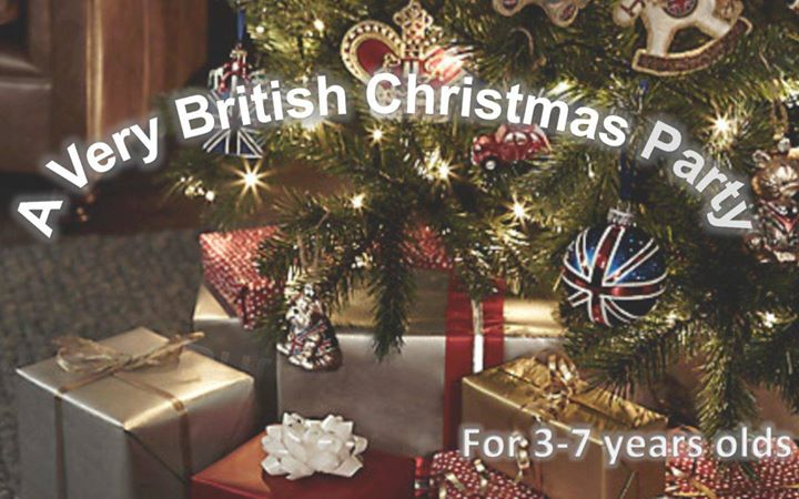 British Christmas Party in English for 3-7 year olds