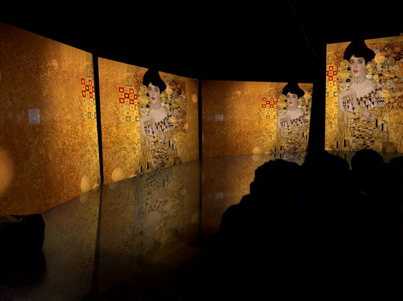 "Exhibition ""Klimt - revived canvases"