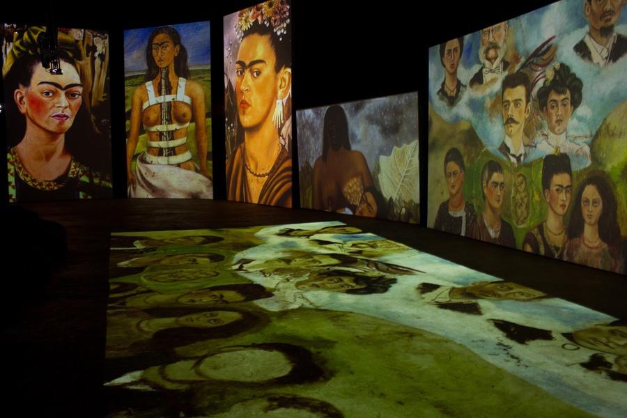 Frida Kahlo: Revived Canvas