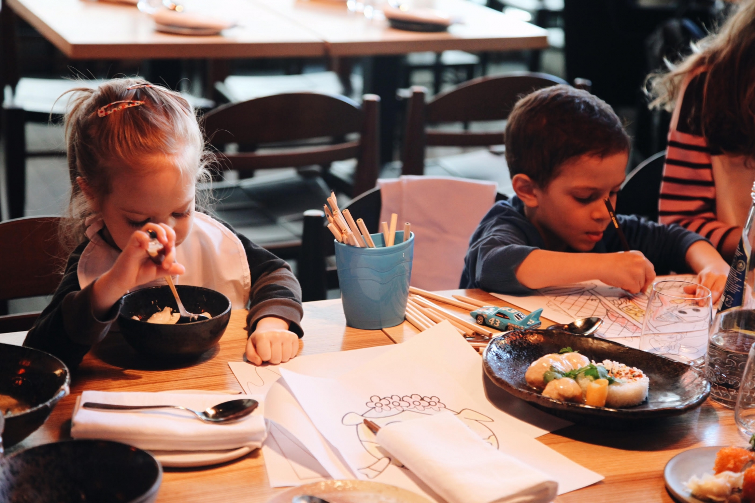Kids Menu & Kids Workshops