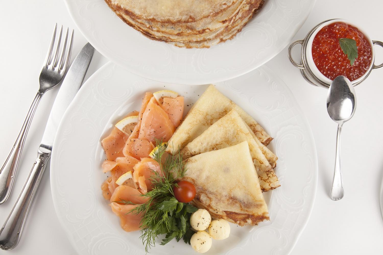 Pancakes week in Oblomov