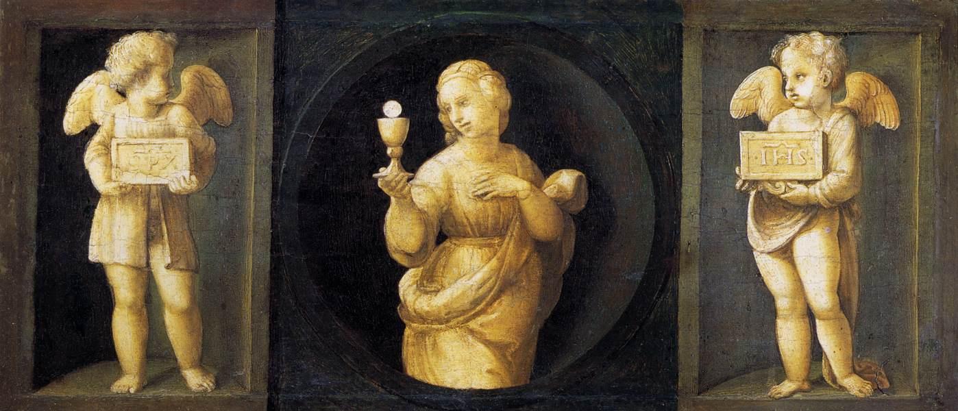 Roma Aeterna. Masterpieces of Pinacoteca Vaticana. Bellini, Rafael, Caravaggio