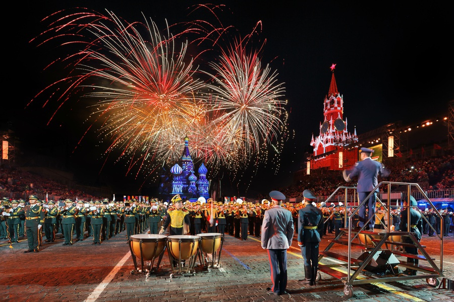 The Spasskaya Tower (military and musical fest)