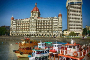 Private City Tour with Ferry Ride & Dharavi Village