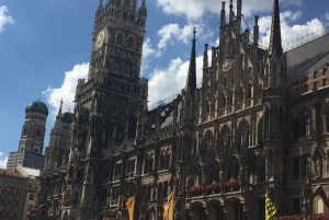 City Highlights and Beer Garden Walking Tour