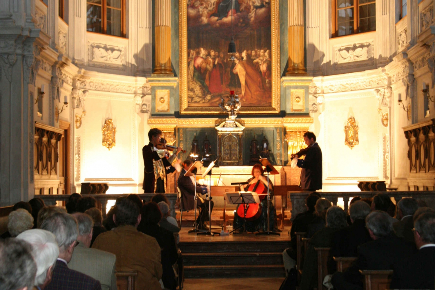 Concert in the Court Chapel of the Residenz