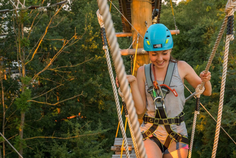 High-Rope Climbing Garden Experience