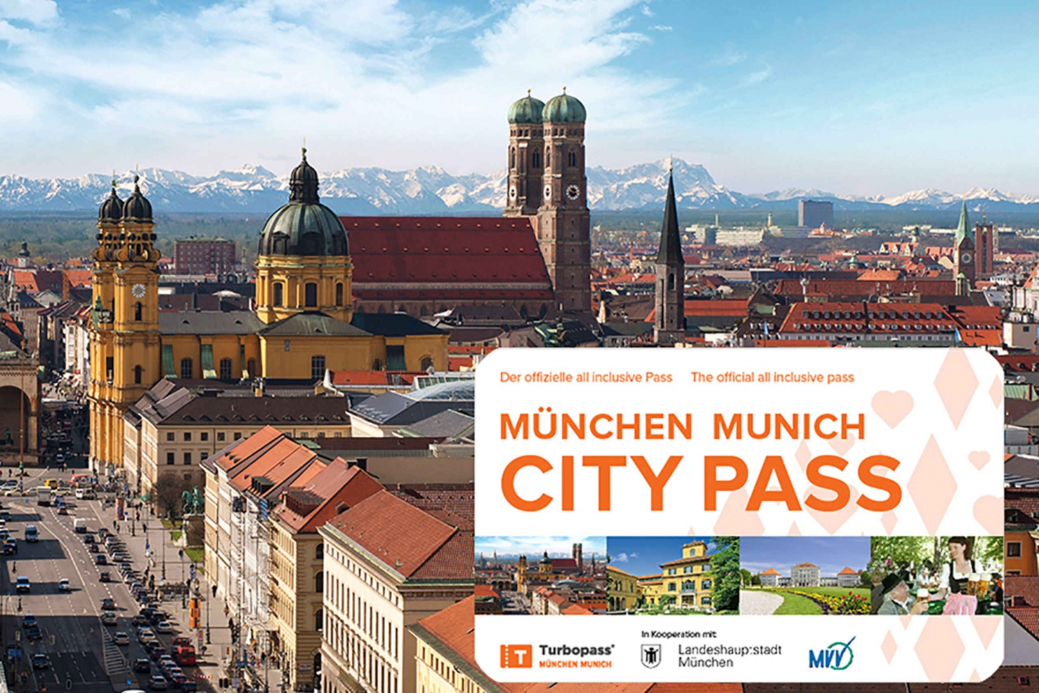 Munich City Pass: Free Admission and Public Transportation