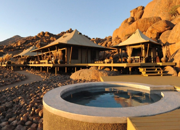 Wolwedans Boulders Safari Camp