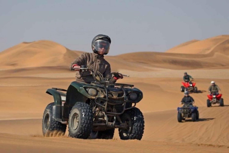 From Swakopmund: Quad Biking in the Namib Dunes