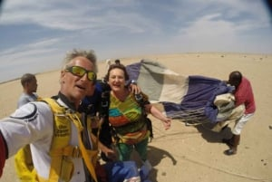 From Swakopmund: Tandem Skydiving Experience