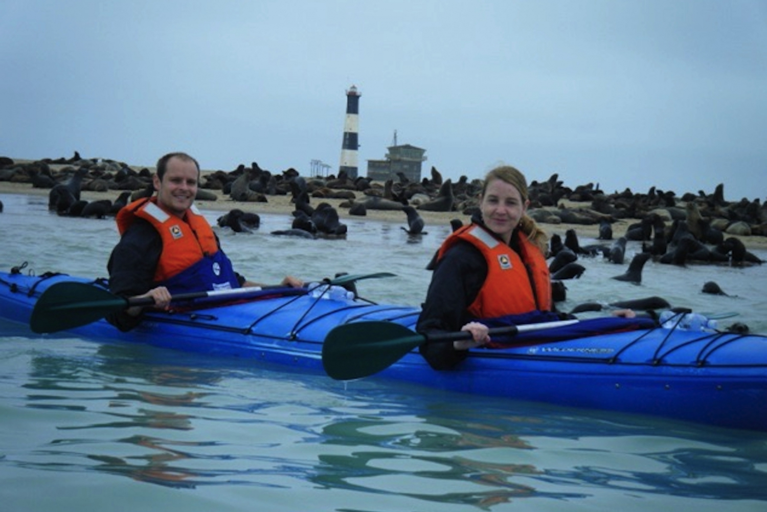 Walvis Bay: Pelican Point Kayaking Tour