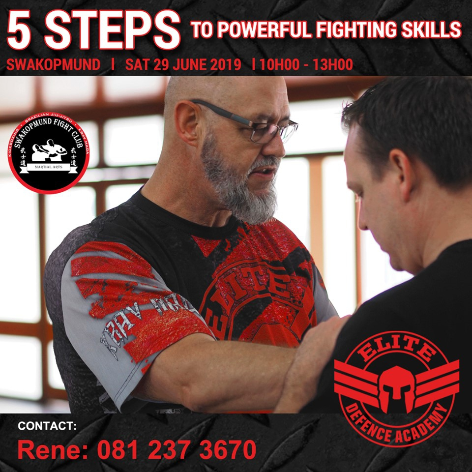 5 Steps to powerful fighting skills