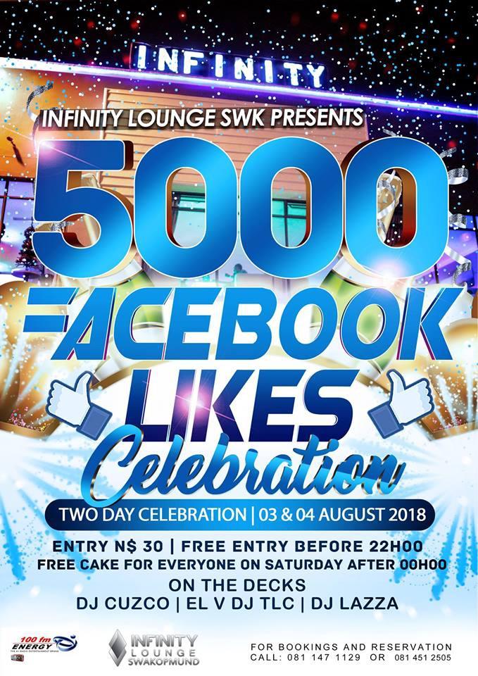 5000 Facebook Likes Celebration