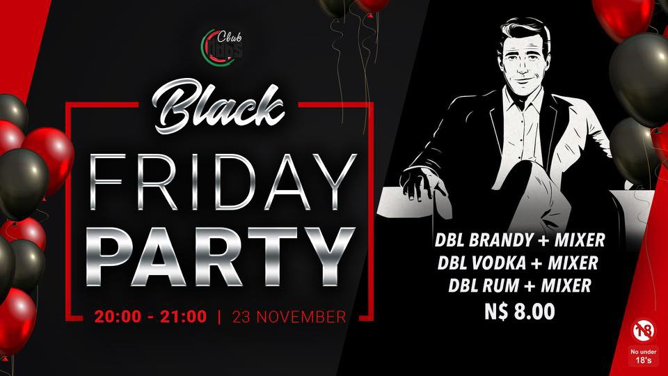 Black Friday party