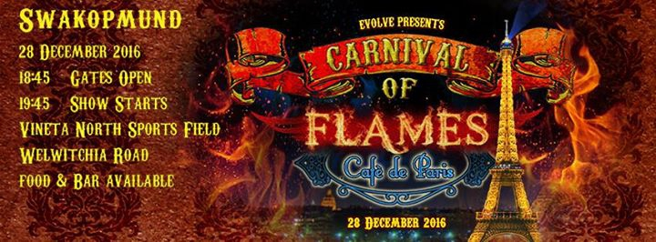 "Carnival of Flames ""Cafe de Paris"""