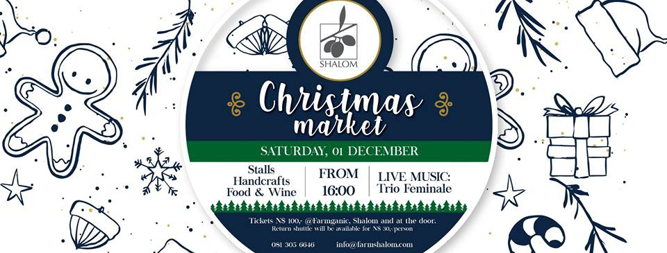 Christmas Market with Trio Feminale Concert